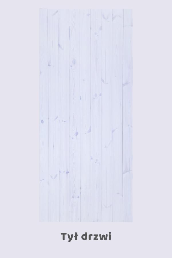 Drzwi przesuwne drewniane IKSER