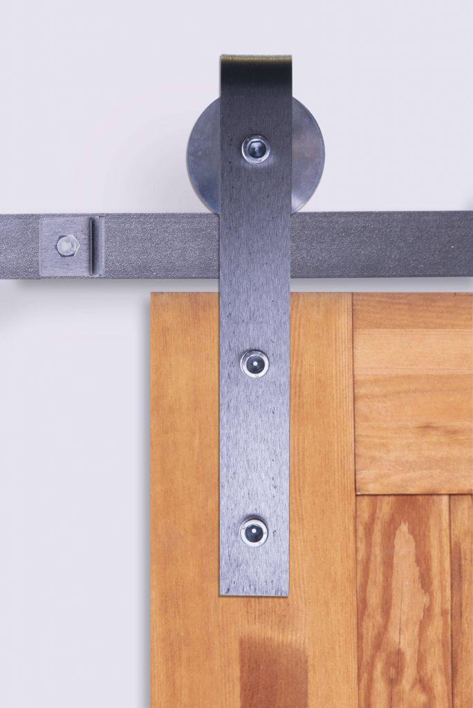 system przesuwny do drzwi, loft, industrialny, surowa stal, stalowy