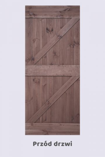 Drzwi przesuwne rustykalne 2ZET
