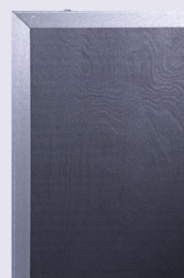 drzwi przesuwne tablicowe zbliżenie, rama metalowa
