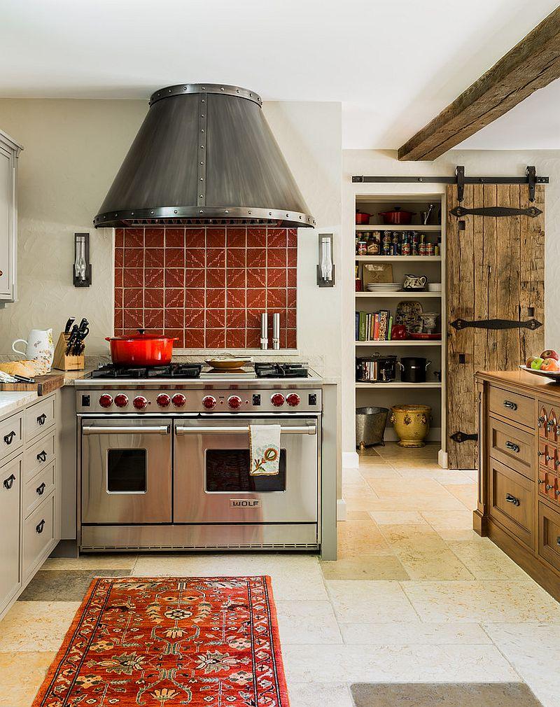 drzwi przesuwne w kuchni, drzwi do spiżarni