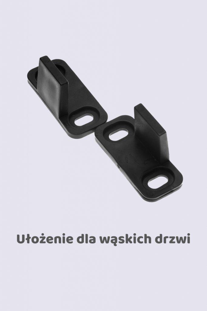 Prowadnik dolny zewnętrzny, model U