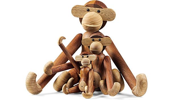 Drewniane małpki Kay Bojesen