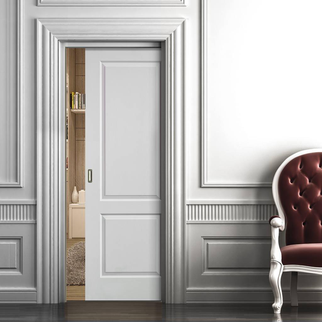 Systemy drzwi przesuwnych ukryte - chowane w ścianie w specjalnej kasecie