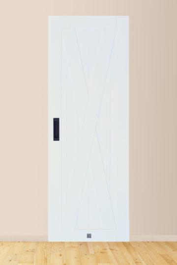 Drzwi IKS biel kryjąca (75 x 210) + 1 Klamka INNER
