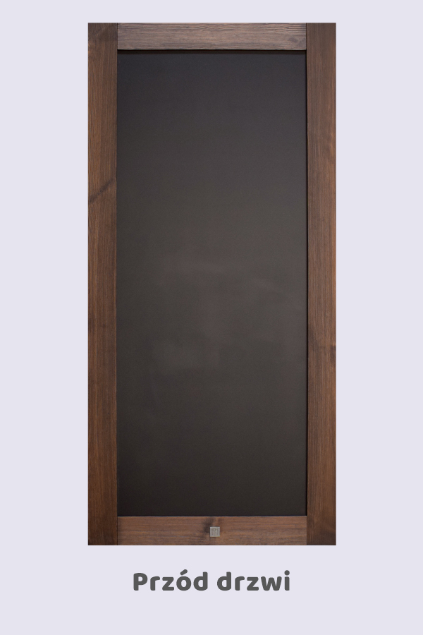 Drzwi przesuwne z tablicą, model CREDA