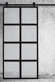 Minimalistyczne drzwi przesuwne VERRIERE