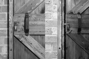 Zamki w drzwiach przesuwnych
